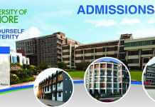 Lahore School of Nursing Admission