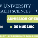 Post Rn and BSN Admission open atDOW Institute of Nursing