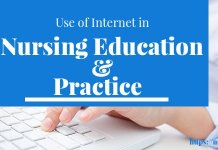 Use of Internet in Nursing education and practice