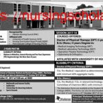 Shalimar College of Nursing Admission 2017 Advertisement image