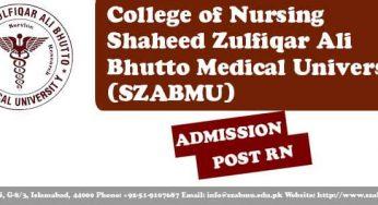 Admissions Open in Shifa College of Nursing 2018 | Nursing Scholar
