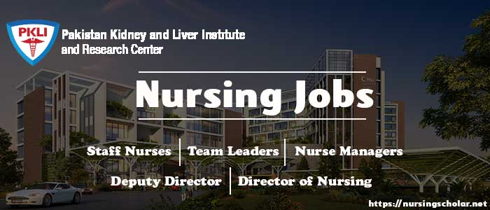 Nursing Jobs at Pakistan Kidney and Liver Institute (PKLI), Lahore