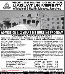 people's nursing school liaquat university
