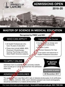 Master of Science in Medical Education (MME)