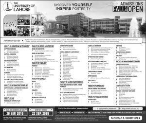 Post RN Admission Open For Session 2019 in Lahore School of Nursing
