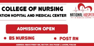 College of Nursing National Hospital and Medical Center BS Nursing and Post RN Admission 2019