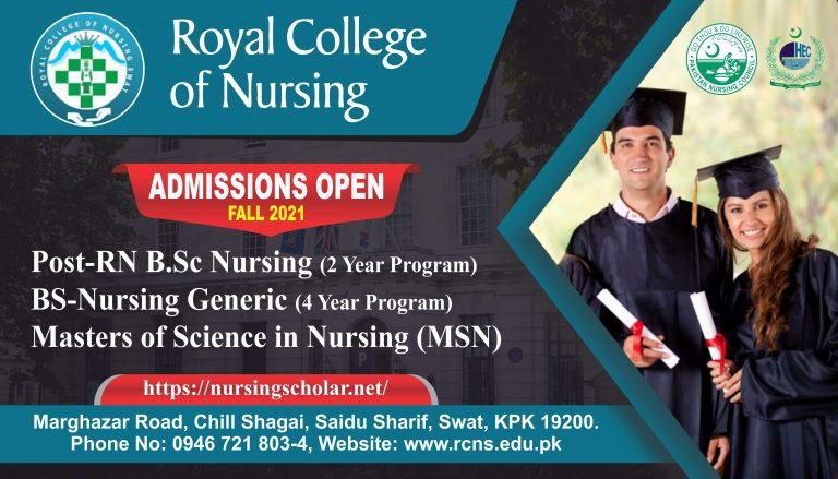 Royal College Of Nursing Admissions | Saidu Sharif