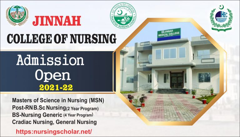 Jinnah College Of Nursing Admissions 2021 | Fees Structure